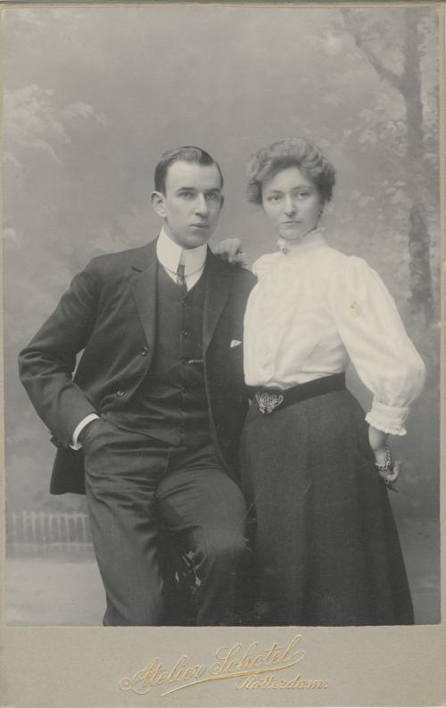 Albertus en Gésine Sonneveld. Collectie Het Nieuwe Instituut. Bruikleen BIHS