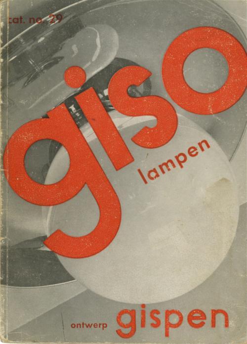 Omslag Giso catalogus, 1929. Collectie Het Nieuwe Instituut