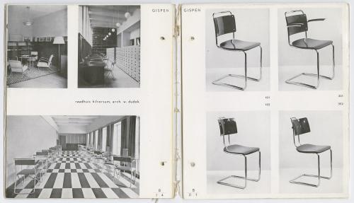 Meubelcatalogus Gispen no. 52. Collectie Het Nieuwe Instituut.