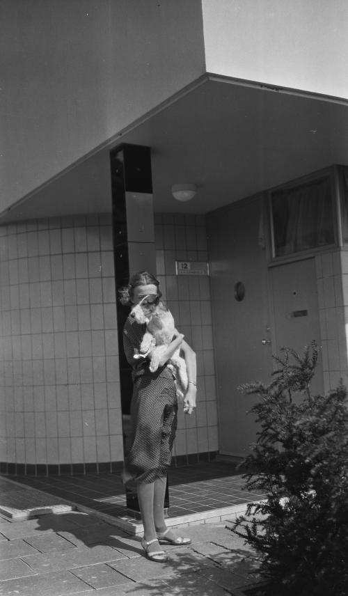 Gé en Teddy. Foto Collectie Het Nieuwe Instituut. Bruikleen BIHS